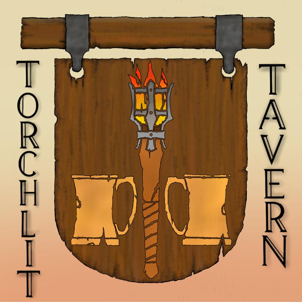 Torchlit Tavern Emblem